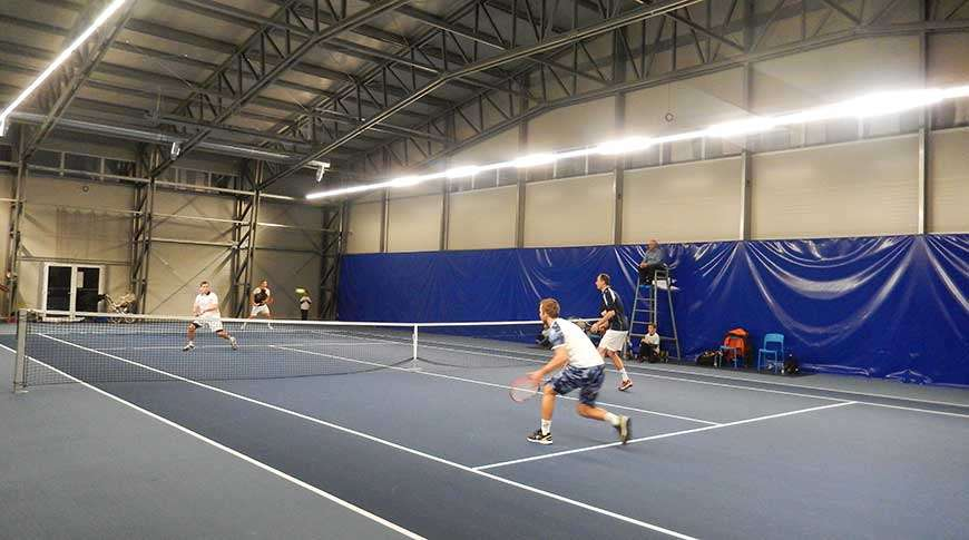 sports leisure building tennis court industrial