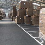 Entrepôt de stockage