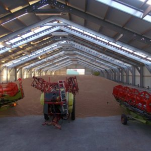 farming equipment storage